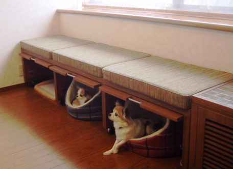 Fauna plus designs for homes with dogs for Pet friendly house plans